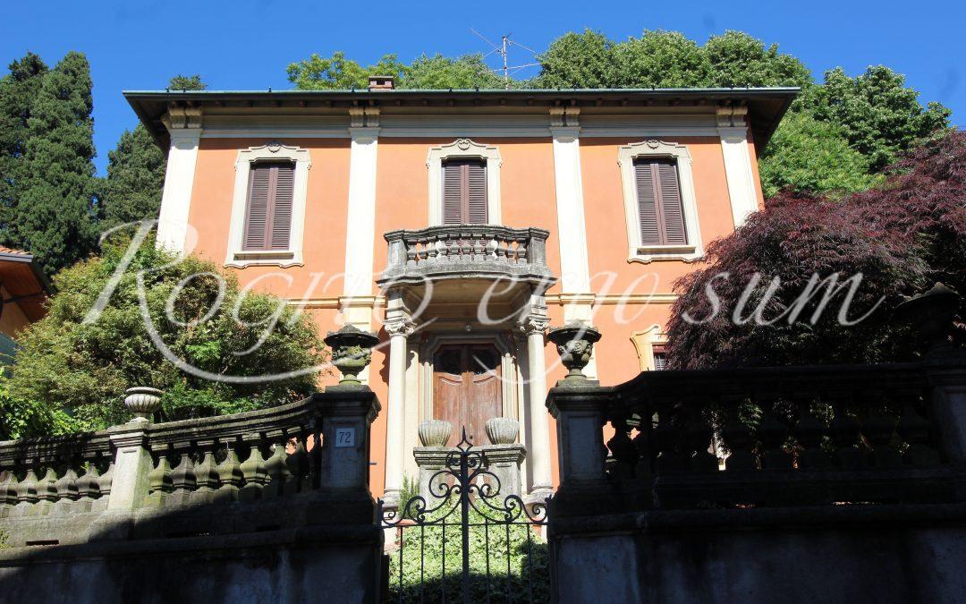 Gazzada – Schianno – Villa stile liberty